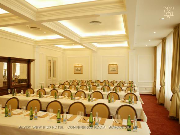 Savoy Westend Hotel - Karlovy Vary - Conference Room School Set-Up